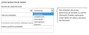 direccion correo electronico hotmail