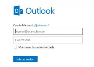 outlook iniciar sesion