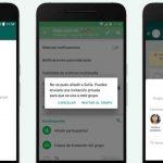 WhatsApp te permite elegir quiénes pueden agregarte a grupos
